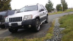 2004 Jeep grand cherokee Laredo rocky mountain edition