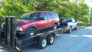 parting out 2000 GMC jimmy 4x4