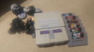Full SNES set up!!!!
