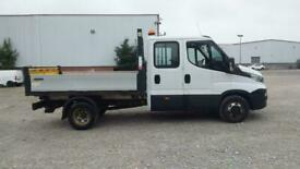 2018 IVECO DAILY 35C14D TD 136 3750WB 7 SEAT DOUBLE CAB INGIMEX 'ONE STOP' ALLOY