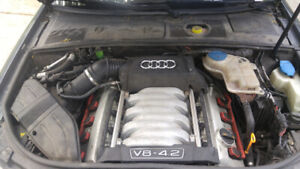 2008 Audi S4 engine for sale 155km fresh timing still in the car