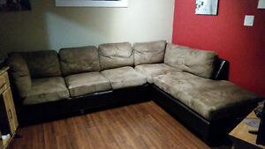 Brown Sectional Couch for sale