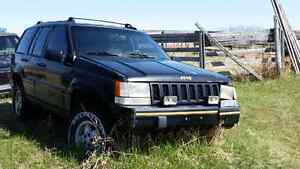 '94 Jeep Grand Cherokee bush buggy,  beater or parts