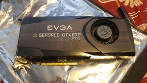 EVGA GTX 670 FTW edition
