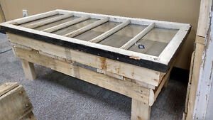 Pallet / Window Frame Coffee Table