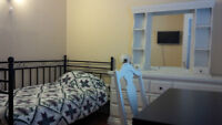 FURNISHED ROOM FOR RENT, WITH PRIVATE ENTRANCE AND PATIO