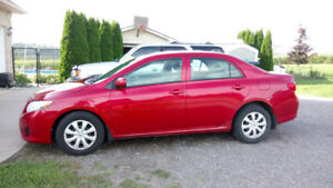 2009 Toyota Corolla 5-Speed