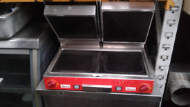 Double panini machine/ contact grill