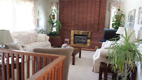 Very nice well maintained main floor of house for rent