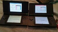 2 black ds and games