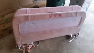 Bed rails for child's bed