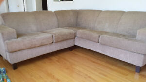 Fabric Cozy Sectional couch