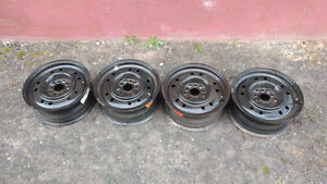 5 x 114.3 rims steel mags jantes