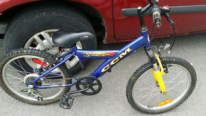 in new condition kid bike