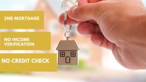 2nd Mortgage No Credit check No Income verification Hamilton