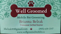 Well Groomed Mobile - Pet Grooming Service
