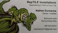 RepTILE Insallations- Wall & Floor Tile Installtions
