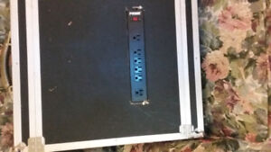 Power Conditioner with Korg Digital/Reverb Unit