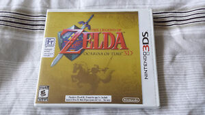 The Legend of Zelda: Ocarina of Time 3D for 3DS Brand New Sealed