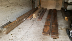Reclaimed and New Lumber