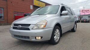 2007 Kia Sedona DVD,LEATHER,SUNROOF