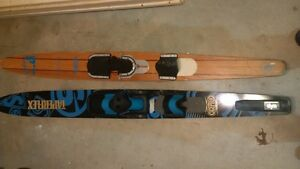 2 Waterski's - one newer and one vintage - SALLOM