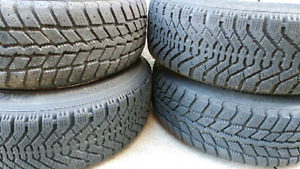 Mustang Winter Tires and Rims 205/65/15