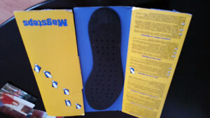 Nikken Magsteps therapeutic shoe inserts