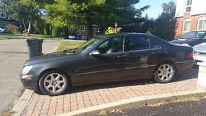 2003 Mercedes-Benz 4 Matic S-Class 4.3L Sedan Low Km Moon Roof West Island Greater Montréal image 4