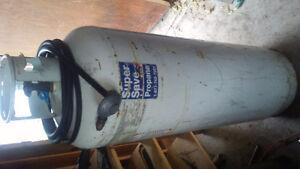 100lb propane tank