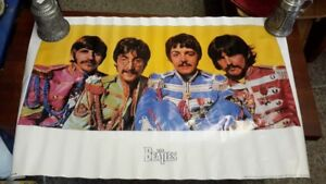1990 Beatles poster Sgt pepper only $10.00 size 24 by 36 inch