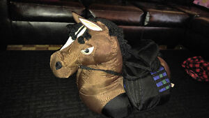**Rare** antique stuffed baby/toddler ride on horse