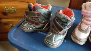 Boys Winter Boots Size 5 - Asking $5