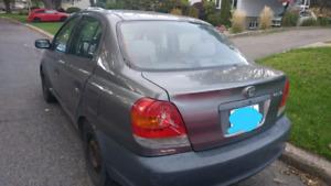 2004 Toyota echo 268 K automatic