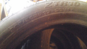 3 Off Sized Tires