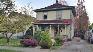New Westminster 4 Bedroom Single House For Rent