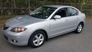 Very Nice 2008 Mazda3 4 dr. Auto, Air, Cruise, New 2 yr. MVI