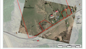 Two 1 acre lots available on Hwy 2 colborne big Apple area
