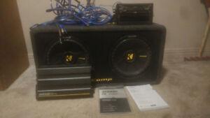 Full kicker audio system