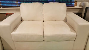 Free loveseat and chair