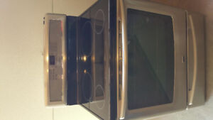 Stainless Steel Maytag Induction Range
