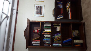 Large and Small Bookshelves
