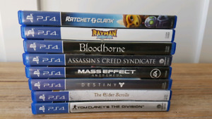 PS4 Games for Trade (SNES Games)