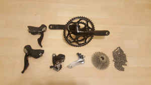 Shimano 105 compact 10 speed groupset