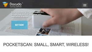 Ducada PocketScan - World's Smallest Wireless Scanner