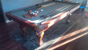4x8 pool table with ping pong top!