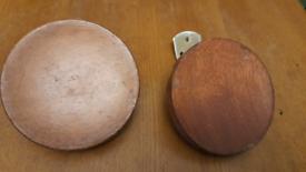 Mid Century door handles (pair)