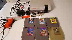 NINTENDO NES complete with 7 best games