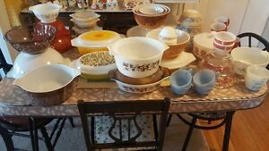 LOT OF PYREX , and some FEDERAL GLASS