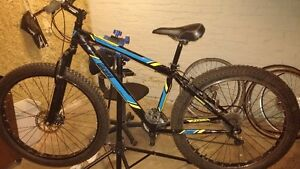 wicked fallout plus mtb with front discs London Ontario image 1